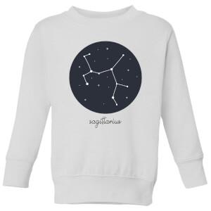 Sagittarius Kids' Sweatshirt - White