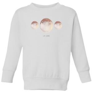 La Lune Kids' Sweatshirt - White