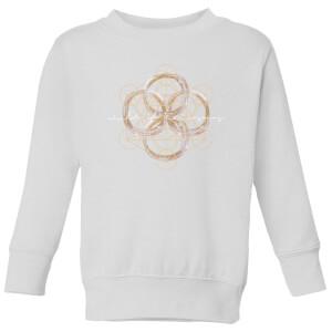 Child Of The Cosmos  Kids' Sweatshirt - White