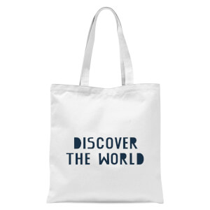 Discover The World Tote Bag - White