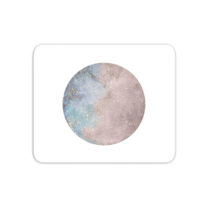 Colourful Moon Mouse Mat