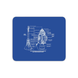 Command And Service Module Schematic Mouse Mat