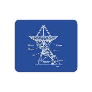 Satellite Schematic Mouse Mat