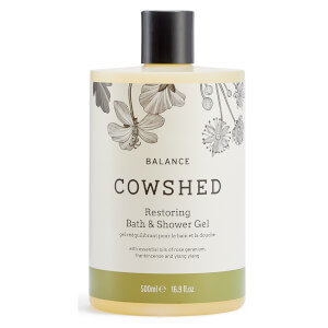 Cowshed BALANCE Restoring Bath & Shower Gel 500ml (Worth $44)