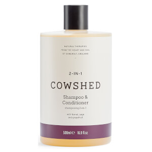 Cowshed 2-In-1 Shampoo & Conditioner 500ml (Worth $40)