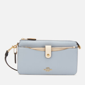 Coach Women's Colorblock Wallet/Cross Body Bag - Mist Straw Multi