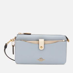 Coach Women's Colorblock Wallet/Cross Body Bag - Mist Straw Multi