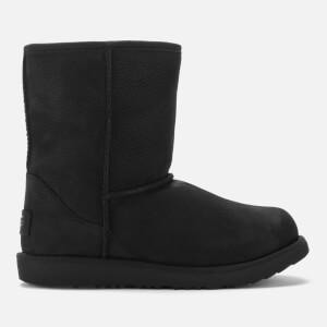 UGG Kids' Classic Short II Waterproof Boots - Black