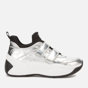 MICHAEL MICHAEL KORS Women's Keeley Velcro Chunky Trainers - Silver/Black