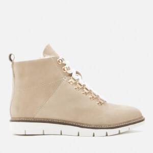 Superdry Women's Studio Hiker Boots - Soft Grey