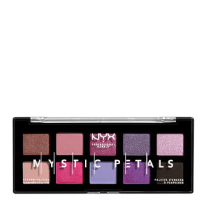 NYX Professional Makeup Mystic Petals Eye Shadow Palette 8g - Midnight Orchid