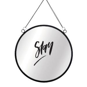 Slay Round Mirror & Vinyl Sticker