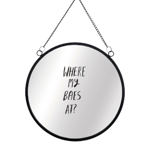 Where My Baes At? Circular Mirror