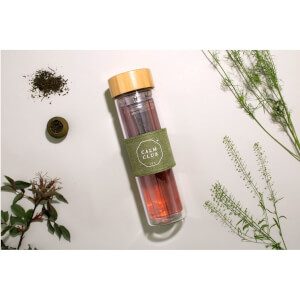Calm Club 'High Tea' Glass Tea Infuser