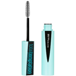 Maybelline Total Temptation Volumising Waterproof Mascara - Very Black 9ml