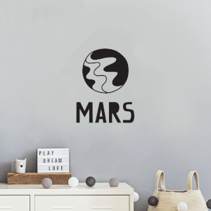 Mars Wall Decal