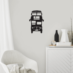 Double Decker Bus Wall Decal