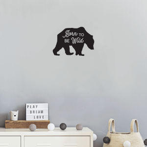Born To Be Wild Wall Art Vinyl