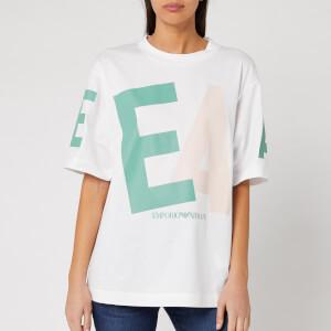 Emporio Armani Women's Multi Logo T-Shirt - White