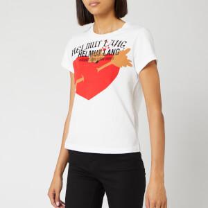 Helmut Lang Women's PZ Valentine Standard T-Shirt - Chalk White