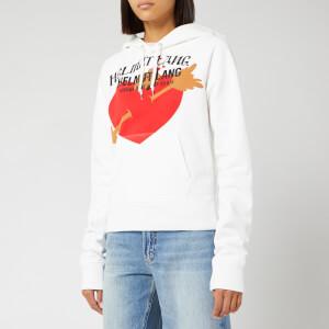 Helmut Lang Women's PZ Valentine Standard Hoodie - Chalk White