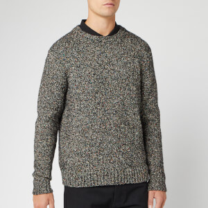 PS Paul Smith Men's Twist Yarn Knit Jumper - Black