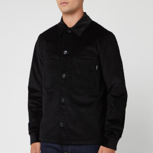 PS Paul Smith Men's Cord Wadded Jacket - Black