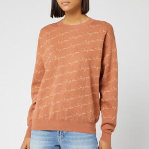 See By Chloé Women's Logo Sweatshirt - Henna Brown