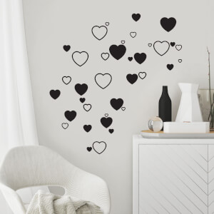Hearts Decal Pack