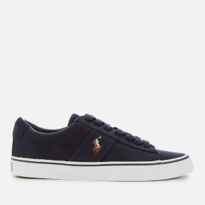 Polo Ralph Lauren Men's Sayer Vulcanised Canvas Low Top Trainers - Navy
