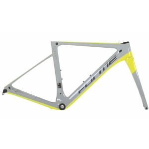 Forme Flash SL Disc Frameset - Grey/Yellow