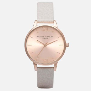 Olivia Burton Women's Sunray Midi Dial Watch - Mink and Rose Gold