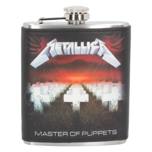 Metallica Master of Puppets 7 oz Hip Flask