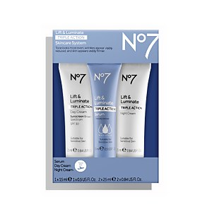 Lift & Luminate Triple Action Travel Set