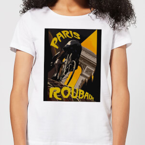 Mark Fairhurst Paris Roubaix Women's T-Shirt - White