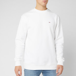 Tommy Jeans Men's Tommy Classics Sweatshirt - Classic White