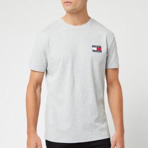 Tommy Jeans Men's Badge T-Shirt - Light Grey Heather