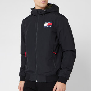 Tommy Jeans Men's Padded Nylon Jacket - Tommy Black