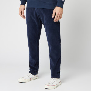 Tommy Jeans Men's Tapered Cord Chinos - Black Iris