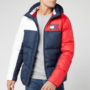 Tommy Jeans Men's Colorblock Jacket - Black Iris/Multi