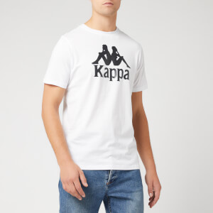 Kappa Men's Large Logo Short Sleeve T-Shirt - White