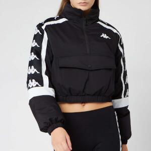 Kappa Women's Banda Benny Padded Jacket - Black/White
