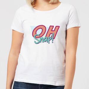 Oh Snap! Women's T-Shirt - White