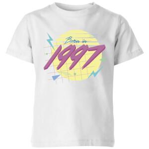 Born In 1997 Kids' T-Shirt - White