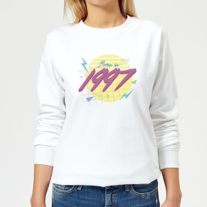 Born In 1997 Women's Sweatshirt - White
