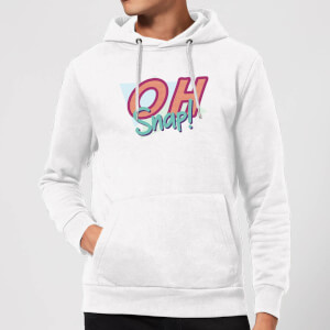 Oh Snap! Hoodie - White