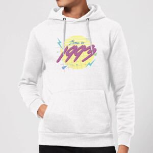 Born In 1993 Hoodie - White