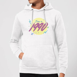 Born In 1990 Hoodie - White
