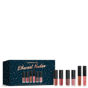 bareMinerals Etheral Nudes Lip Collection