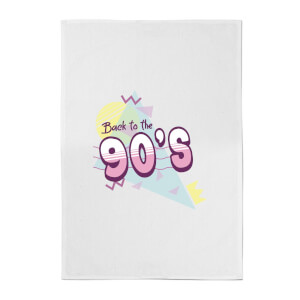 Back To The 90's Cotton Tea Towel
